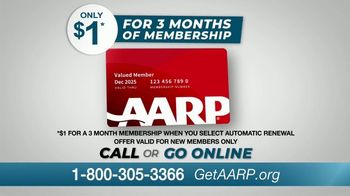 AARP Services, Inc. TV Spot, 'Never Been a Better Time: $1 for Three Months' - Thumbnail 8