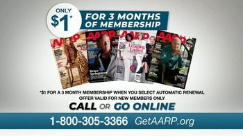 AARP Services, Inc. TV Spot, 'Never Been a Better Time: $1 for Three Months' - Thumbnail 9