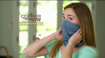 Copper Fit Guardwell Face Protector TV Spot, 'Más cómodo' [Spanish]
