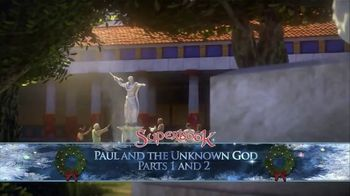 SuperBook Home Entertainment TV Spot, 'Paul and the Unknown God: Parts One & Two' - Thumbnail 6
