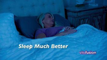 VitaFusion CBD Hemp Extract Sleep Well TV Spot, 'Falling Asleep' - Thumbnail 4