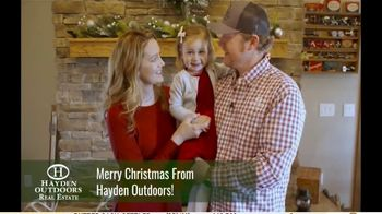 Hayden Outdoors TV Spot, 'Merry Christmas From the Family'