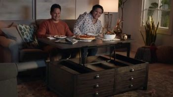 Havertys Coleford Coffee Table TV Spot, 'Agree to Disagree' - Thumbnail 5