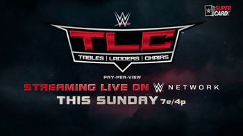 WWE Network TV Spot, '2020 TLC: Tables, Ladders, Chairs' Song by Corey Taylor - Thumbnail 9