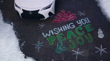 Lexus December to Remember Sales Event TV Spot, 'Driveway Moments: Peace and Joy Delivery' [T2] - Thumbnail 5