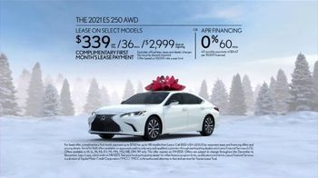 Lexus December to Remember Sales Event TV Spot, 'Driveway Moments: Birthday' [T2] - Thumbnail 9