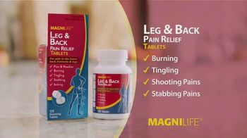 MagniLife Leg & Back Pain Relief Tablets TV Spot, 'Tired of Pain?'