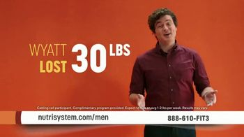 Nutrisystem for Men TV Spot, 'Open the Door: 50% Off and Free Delivery'