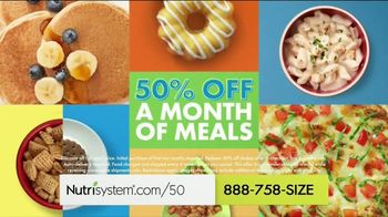 Nutrisystem TV Spot, 'Knock Knock: 50% Off Month of Meals and Shakes' - Thumbnail 6