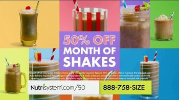 Nutrisystem TV Spot, 'Knock Knock: 50% Off Month of Meals and Shakes' - Thumbnail 7