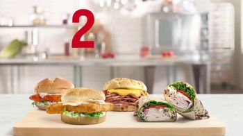 Arby's 2 for $6 Everyday Value TV Spot, 'Biggest Fish Sandwich' Song by YOGI - Thumbnail 2