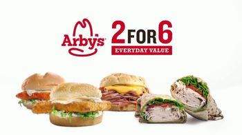 Arby's 2 for $6 Everyday Value TV Spot, 'Biggest Fish Sandwich' Song by YOGI - Thumbnail 8