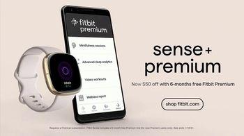 Fitbit Sense + Premium TV Spot, 'Get More Out of 2021' - Thumbnail 10