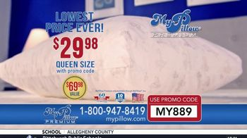 My Pillow Premium TV Spot, 'Morgan L.: $40 Savings' - Thumbnail 4