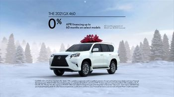 Lexus December to Remember Sales Event TV Spot, 'Driveway Moments: Peace and Joy' [T2] - Thumbnail 5