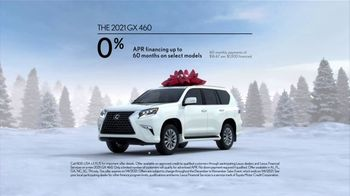 Lexus December to Remember Sales Event TV Spot, 'Driveway Moments: Peace and Joy' [T2] - Thumbnail 6