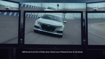 Happy Honda Days Sales Event TV Spot, 'Serious: Accord and Civic' [T2] - Thumbnail 3