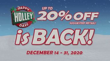 Happy Holley Days TV Spot, 'Daily Deals Up to 20% Off'
