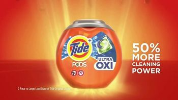 Tide Pods Ultra OXI TV Spot, 'One-Uppers' - Thumbnail 8