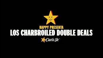 Carl's Jr. Charbroiled Double Deals TV Spot, 'La zona de carne: BLT Ranch Double Cheeseburger' [Spanish] - Thumbnail 1