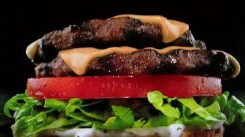Carl's Jr. Charbroiled Double Deals TV Spot, 'La zona de carne: BLT Ranch Double Cheeseburger' [Spanish] - Thumbnail 2