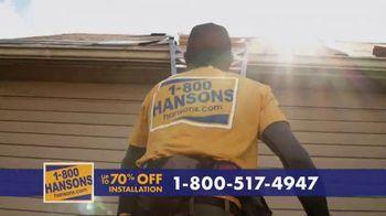 1-800-HANSONS TV Spot, 'Trust Hansons: 70% Off Installation' - Thumbnail 2