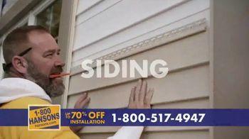 1-800-HANSONS TV Spot, 'Trust Hansons: 70% Off Installation' - Thumbnail 3