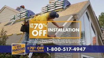 1-800-HANSONS TV Spot, 'Trust Hansons: 70% Off Installation' - Thumbnail 5