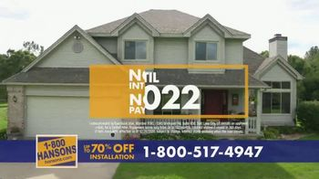 1-800-HANSONS TV Spot, 'Trust Hansons: 70% Off Installation' - Thumbnail 6