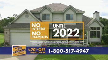 1-800-HANSONS TV Spot, 'Trust Hansons: 70% Off Installation' - Thumbnail 7