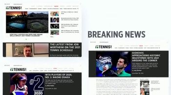 TENNIS.com TV Spot, 'News, Videos, and Podcasts'