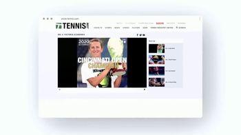 TENNIS.com TV Spot, 'News, Videos, and Podcasts' - Thumbnail 8