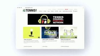 TENNIS.com TV Spot, 'News, Videos, and Podcasts' - Thumbnail 9