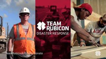 Team Rubicon Disaster Response TV Spot, 'When Disaster Strikes'
