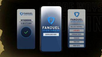 FanDuel Sportsbook TV Spot, 'New Year's Day Showdown' - Thumbnail 6