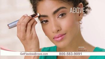 Finishing Touch Flawless Brows TV Spot, 'Like an Eraser: New'