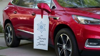 Buick Celebrate the Holidays TV Spot, 'Just What I Wanted' Song by Matt and Kim [T2] - Thumbnail 3