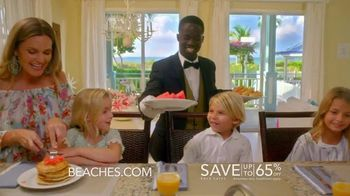 Beaches Turks & Caicos TV Spot, 'WOW!: Save Up to 65% Off' - Thumbnail 5