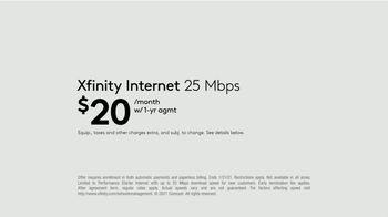 XFINITY Gig Speed Internet TV Spot, 'Extremely Sticky Tablet: $20' Featuring Amy Poehler - Thumbnail 9