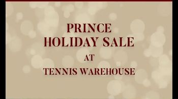Tennis Warehouse Prince Holiday Sale TV Spot, 'Free Gift Card' - Thumbnail 1