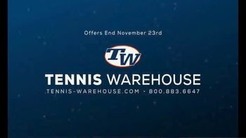 Tennis Warehouse Prince Holiday Sale TV Spot, 'Free Gift Card' - Thumbnail 10