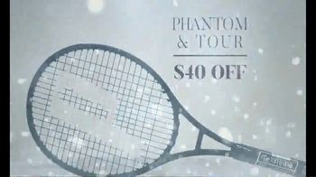 Tennis Warehouse Prince Holiday Sale TV Spot, 'Free Gift Card' - Thumbnail 3