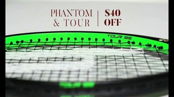 Tennis Warehouse Prince Holiday Sale TV Spot, 'Free Gift Card' - Thumbnail 4