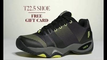 Tennis Warehouse Prince Holiday Sale TV Spot, 'Free Gift Card' - Thumbnail 5