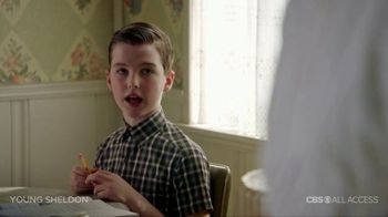 CBS All Access TV Spot, 'Young Sheldon' - Thumbnail 8
