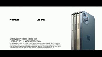 Verizon TV Spot, 'Holidays: iPhone 12 Pro Max: Unlimited Plans' - Thumbnail 6