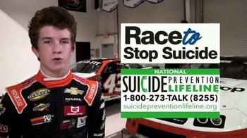 National Suicide Prevention Lifeline TV Spot, 'Race to Stop Suicide: Facing the Numbers' Featuring Daniel Dye