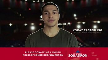 Folds of Honor Foundation TV Spot, 'Two Million Spouses and Children'