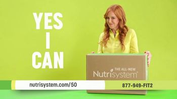 Nutrisystem TV Spot, 'Open a Box of Yes I Can: 50% Off Meals and Shakes'