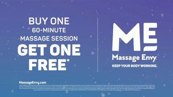 Massage Envy TV Spot, 'Working Hard: Buy One, Get One Free' - Thumbnail 9